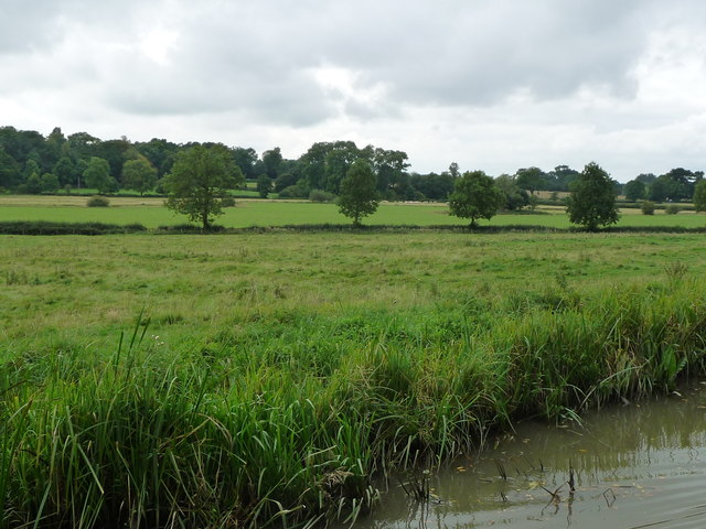 Ridge and furrow field near medieval Wystowe