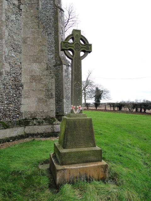 Elsing War Memorial