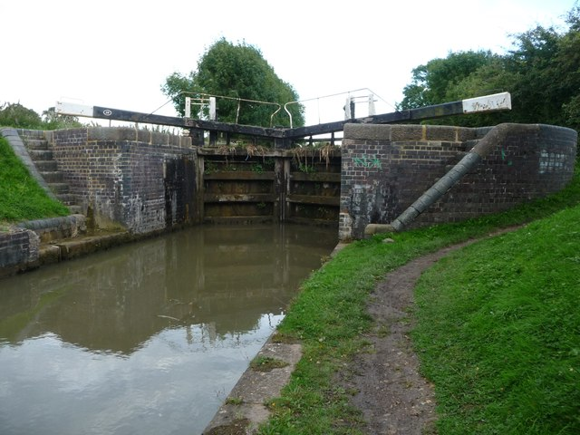 Bottom gates, Tythorn Lock [no 28]