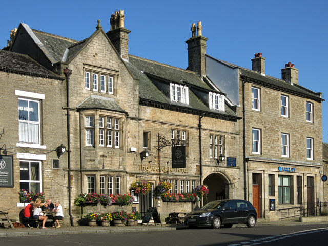 The Teesdale Hotel, Market Place (2)