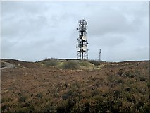 N7296 : Mobile phone mast at Loughanleagh by Oliver Dixon
