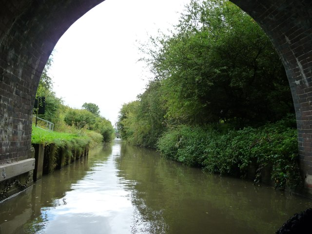 Grand Union Canal [Leicester section], S.E. from Saddington Tunnel