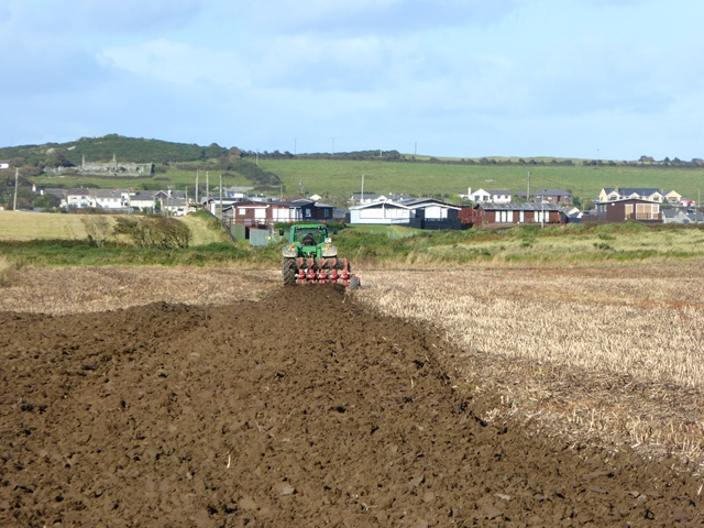 Ploughing at Ganderstown