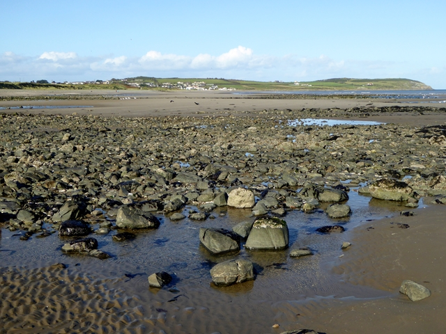 Rocks on the beach at Ganderstown