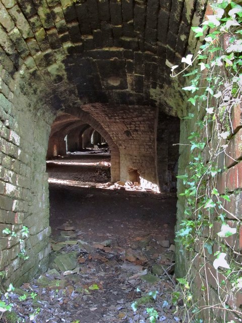 Inside the kiln at former Horeb Brickworks