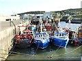 O1784 : Fishing fleet at Port Oriel by Oliver Dixon