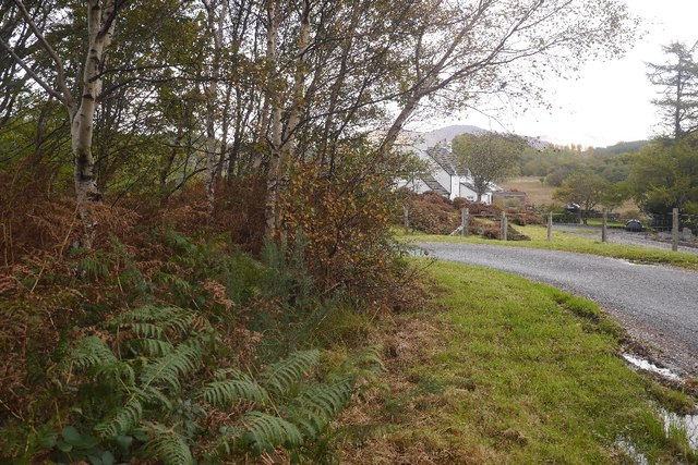 Narrow road, Creran