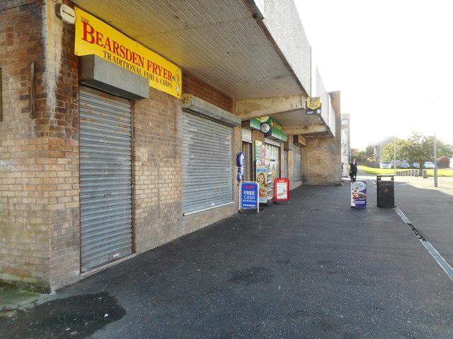 Shops, Kenilworth Crescent