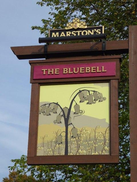 The Bluebell innsign