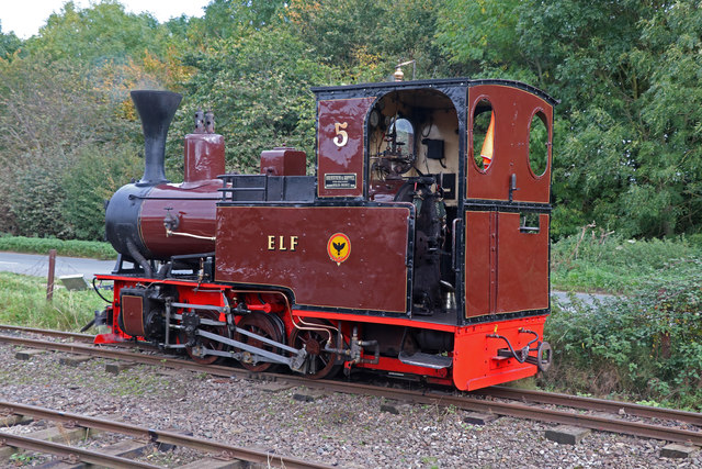 Leighton Buzzard Railway - Locomotive No. 5 'Elf'