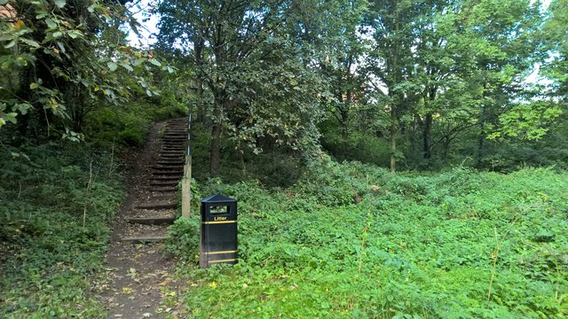 Way out from Maun Valley Country Park & Nature Reserve