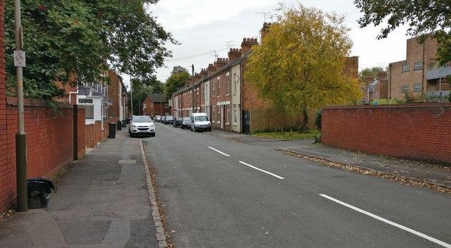 Clifton Road in Aylestone Park