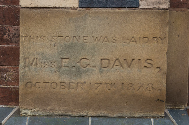 Foundation stone, former Zion Methodist Chapel, New Road