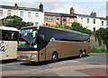SX9164 : Welsh coach, Torquay coach station by Derek Harper