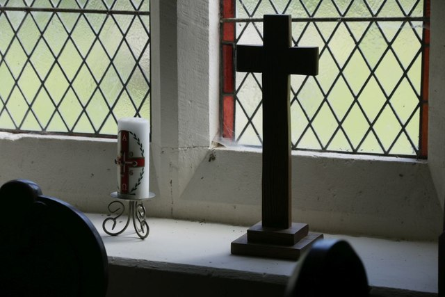 Cross on the Sill