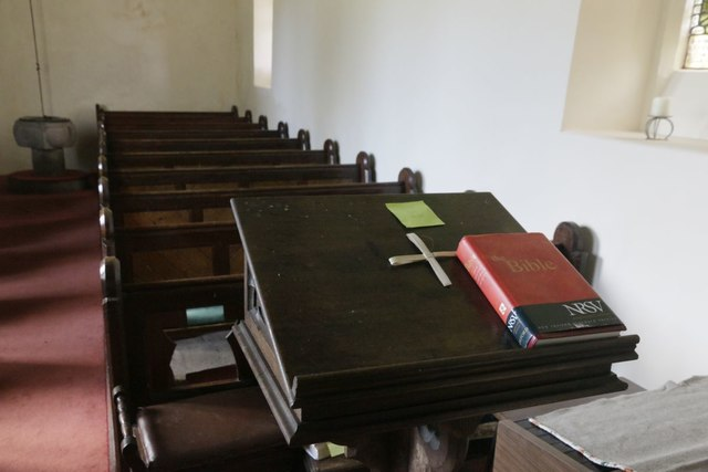 Bible on the Lectern