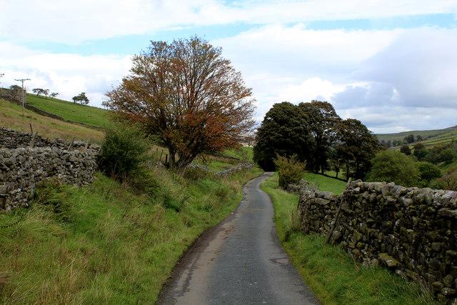 Lane below Crackpot Side