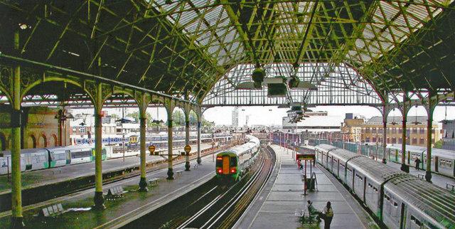 London Bridge station, Central section, 2005