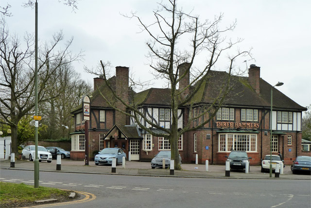 The Three Hammers, Mill Hill