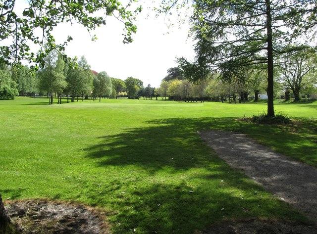 Golf course at Ballymascanlon House Hotel