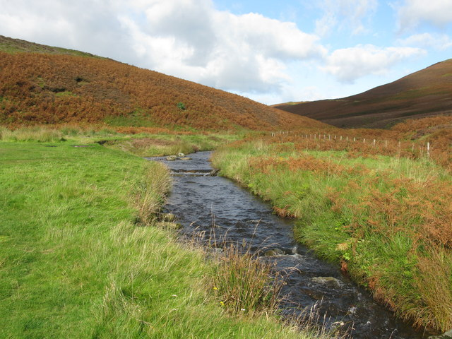 Meldon Burn, west of Peebles