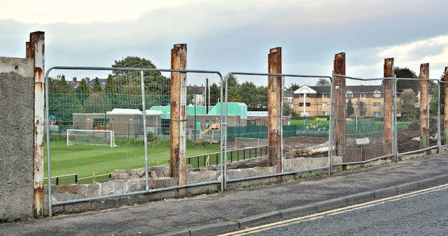 Wilgar Park football ground, Belfast - October 2017(1)