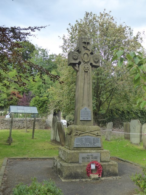 Stoney Middleton war memorial