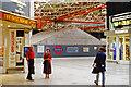 TQ3280 : London Bridge station, concourse 1996 by Ben Brooksbank