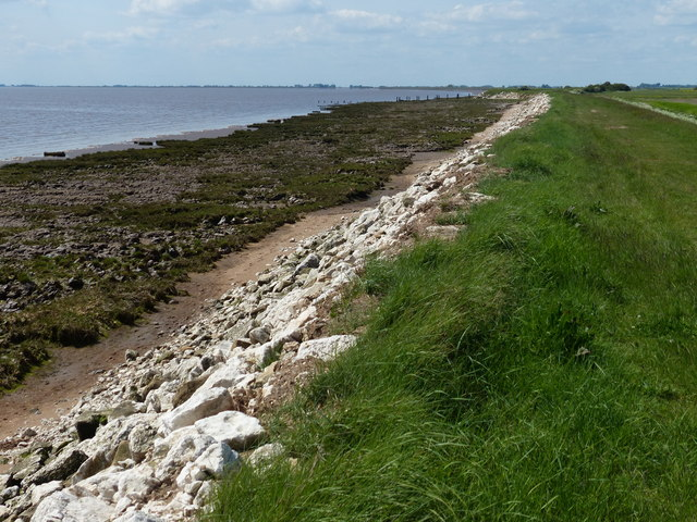 Humber shoreline at Winsetts Clough