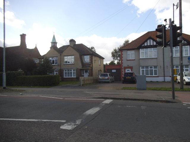 Houses on Milton Road, Cambridge