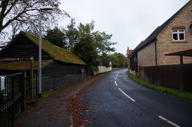 School Lane, Roxton