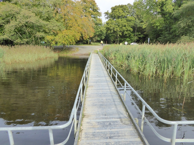 Fishing stage on Castle Lough