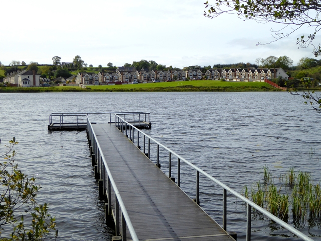 Fishing stage on Bailieborough Lough