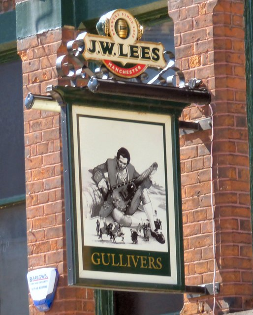 Sign of Gullivers