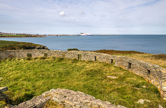 North Wales WWII defences: Holyhead, Anglesey - Penrhos Beach observation post (1)