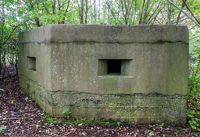 WWII Cheshire: Rocksavage power station pillbox (1)