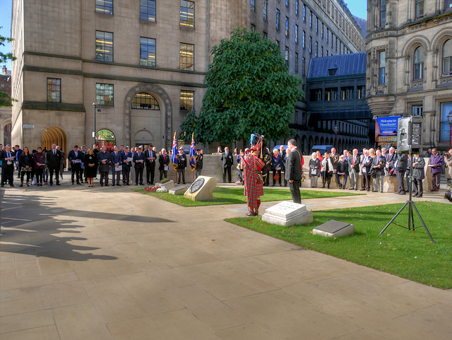 Service at St Peter's Square