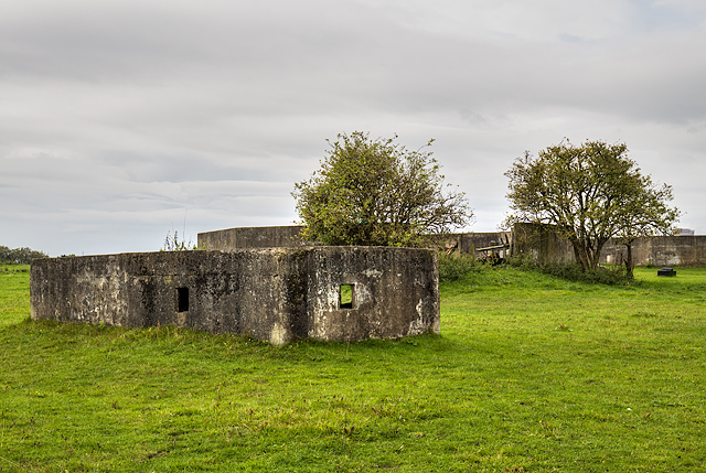 WWII Cheshire: Moore Heavy Anti-Aircraft Battery (1)