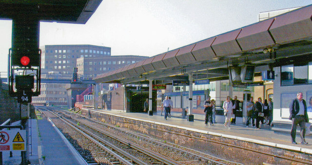 London Bridge station, Eastern section, 2008