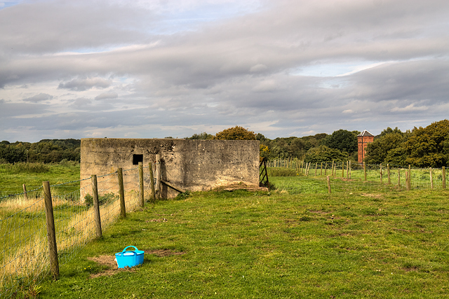 WWII Cheshire: Moore Heavy Anti-Aircraft Battery (8)