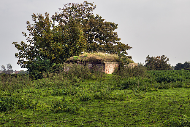 WWII Cheshire, Parkfields, Hoylake - Civil Bombing Decoy Control Bunker