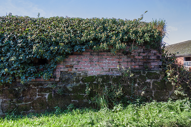 WWII Shropshire: RAF Rednal - pillbox (2)