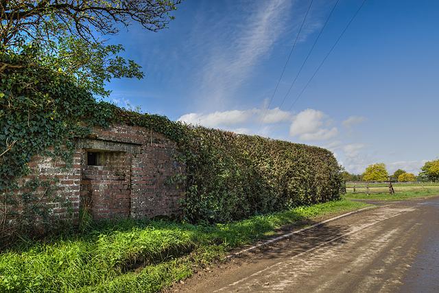 WWII Shropshire: RAF Rednal - pillbox (3)