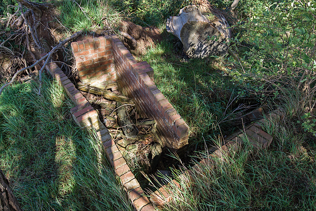 WWII Shropshire: RAF Rednal - Fire Trench (11)