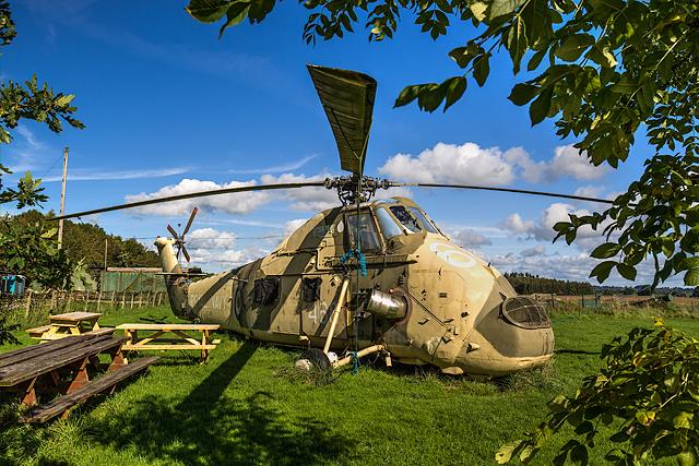 Rednal Industrial Estate helicopter (2)