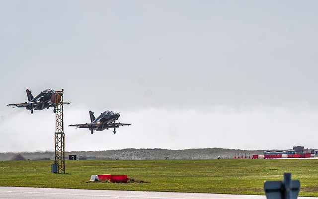 Formation take-off at RAF Valley (1)