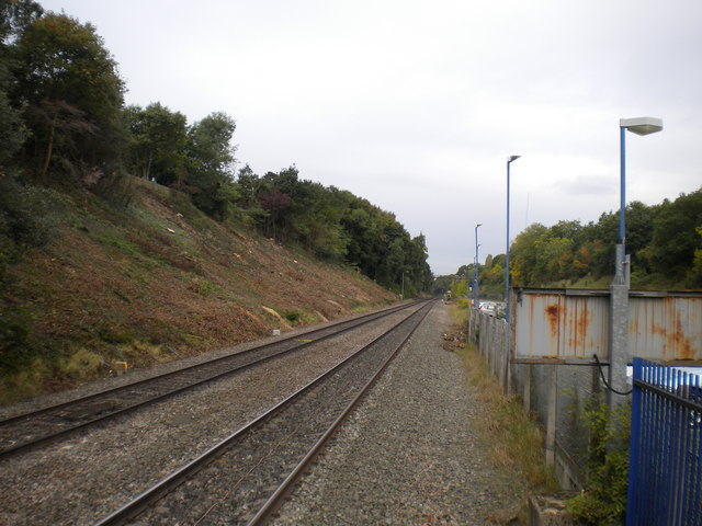 Railway line west of Gerrards Cross station