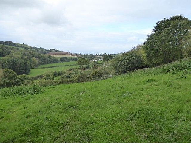 Valley towards East Bowley