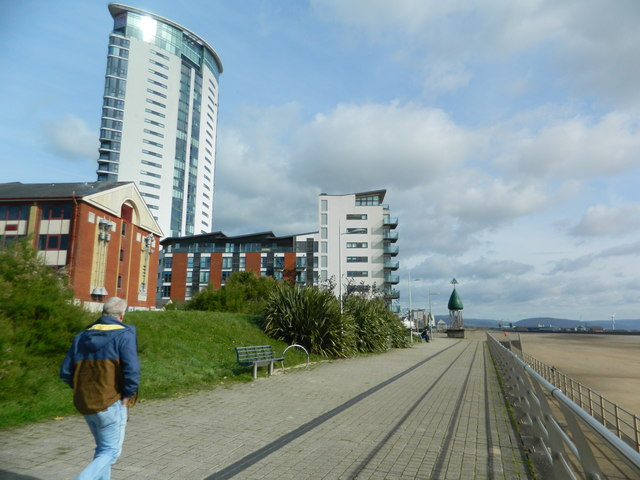 Wales Coast Path, Swansea