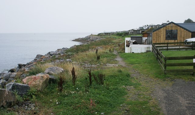 Path beside the shore, Hilton of Cadboll